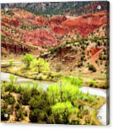 Rio Chama Overlook 2 Acrylic Print
