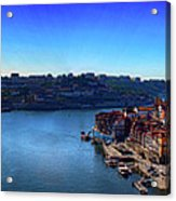 Rio Douro Acrylic Print