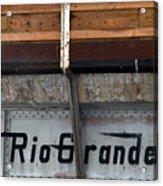 Rio Grande Bridge Acrylic Print