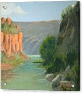 Rio Grande Canyon Acrylic Print