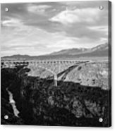 Rio Grande Gorge Birdge Acrylic Print
