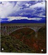 Rio Grande Gorge Bridge Acrylic Print