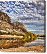 Rio Grande River 1 Acrylic Print