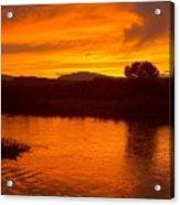Rio Grande Sunset Acrylic Print