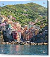 Riomaggiore 0582 Crop Acrylic Print