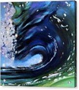 Rip Curl - Dynamic Ocean Wave  Acrylic Print by Prashant Shah
