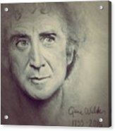 R.i.p. Gene Wilder Acrylic Print