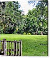 Rip Van Winkle Gardens Louisiana  Acrylic Print