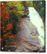 Ripley Falls Autumn Acrylic Print
