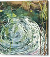Ripple Pond Acrylic Print