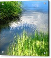 Clear And Gentle Flow Acrylic Print