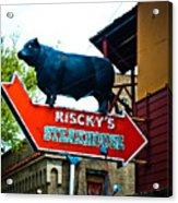 Riscky's Acrylic Print