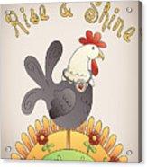 Rise And Shine-jp2836 Acrylic Print