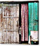 Rishikesh Door Acrylic Print