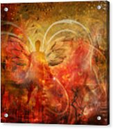 Rising From The Ashes Acrylic Print