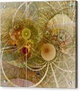 Rising Spring - Fractal Art Acrylic Print