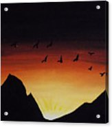 Rising With The Dawn Acrylic Print