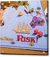 Risk - Cornered Again Acrylic Print