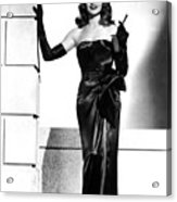 Rita Hayworth Acrylic Print