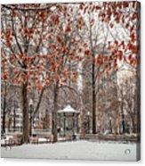 Rittenhouse Snowscape Acrylic Print