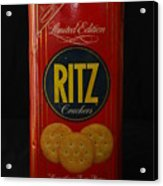 Ritz Crackers Acrylic Print