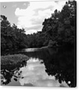 River And Clouds 2 Acrylic Print