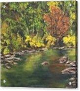River At Hidden Acres 1. Acrylic Print