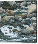 River At Sierra Subs Acrylic Print