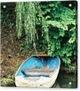 River Avon Boat Acrylic Print
