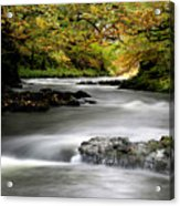 River Brathay Cumbria England Acrylic Print