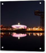 River Clyde Night Acrylic Print