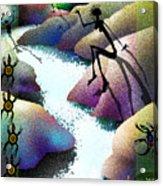 River Dance Acrylic Print