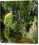 River Eea Cartmel Cumbria Acrylic Print