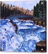 River Falls Acrylic Print