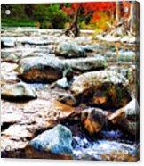 River Gone Acrylic Print