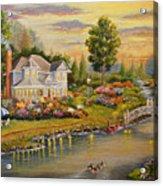 River Home Acrylic Print