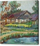 River Home  Minature Acrylic Print