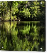 River In The Mountain Acrylic Print