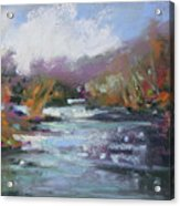 River Jewels Acrylic Print