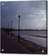 River Lights Acrylic Print