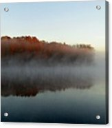 River Mist Acrylic Print