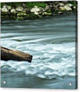 River Motion Acrylic Print
