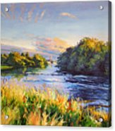 River Moy At Ballina Acrylic Print