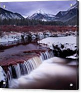 River Of Glass Acrylic Print