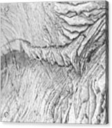 River Of Rock Acrylic Print