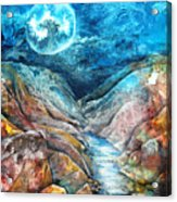 River Of Souls Acrylic Print by Patricia Allingham Carlson