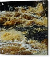 River On The Rocks IIi Acrylic Print