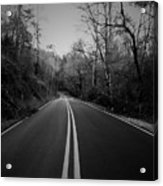 River Road One Acrylic Print