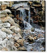 River Rock Of The Unknown Acrylic Print