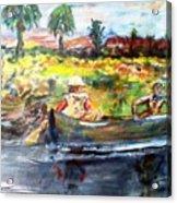 River Romance Acrylic Print